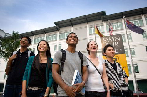 Sinh viên Đại học Công nghệ Swinburne