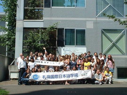 Sinh viên du học Nhật Bản trường Nhật ngữ quốc tế Sapporo