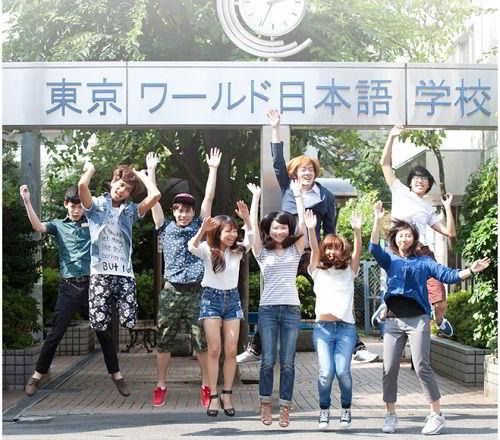 Sinh viên trường Nhật ngữ Tokyo World luôn tự tin và năng động