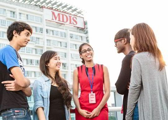 Chương trình học của MDIS thu hút học sinh từ nhiều quốc gia khác nhau
