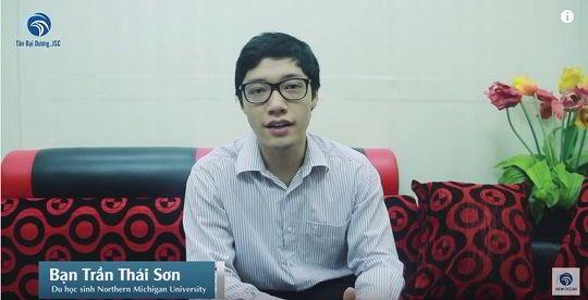 Chúc mừng bạn Trần Thái Sơn nhận visa du học Mỹ