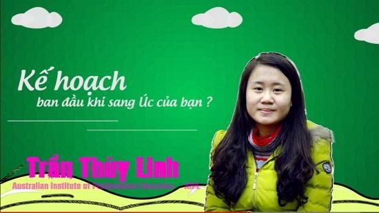 Visa du học Úc trường Aipe của cô gái 19 tuổi Trần Thùy Linh
