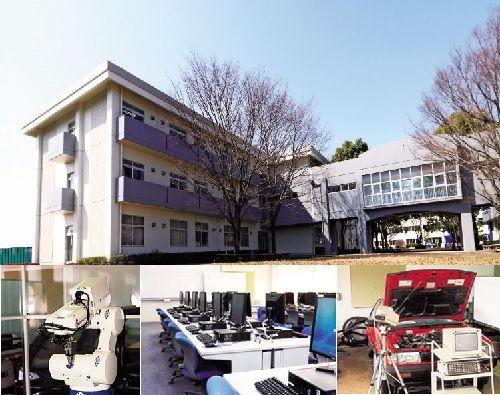 Cơ sở Trường Cao Đẳng Công Nghệ Ô Tô Nakanihon Nhật Bản