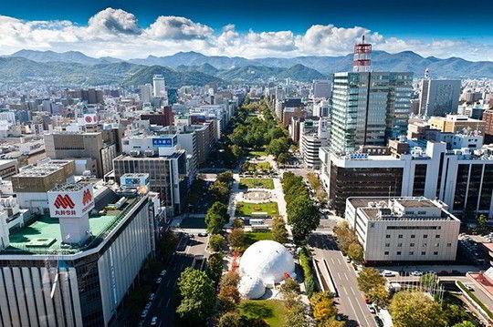 Trường Nhật ngữ quốc tế Sapporo nằm ở vị trí vô cùng tuyệt vời