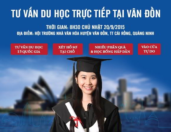 """Chương trình """"Tư vấn du học trực tiếp"""" của New Ocean tại Vân Đồn, Quảng Ninh"""
