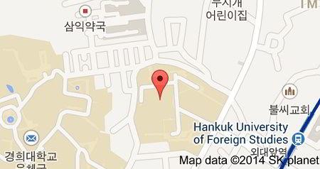 Vị trí trường đại học ngoại ngữ Hankuk Hàn Quốc