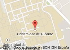 Vị trí Đại học Alicante