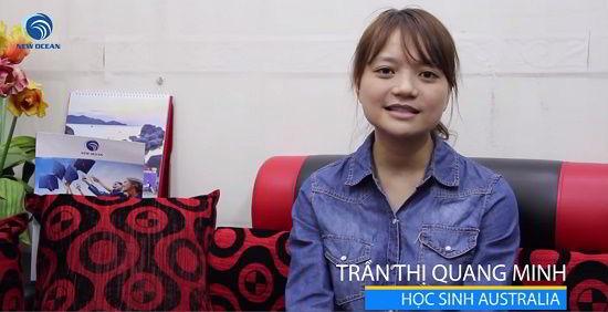 Trần Thị Quang Minh hiện thực giấc mơ Thạc sĩ sư phạm với visa du học Úc