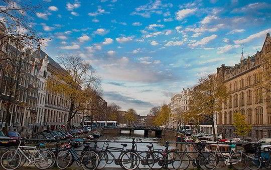 Xe đạp là phương tiện được ưa chuộng nhất tại đất nước Hà Lan