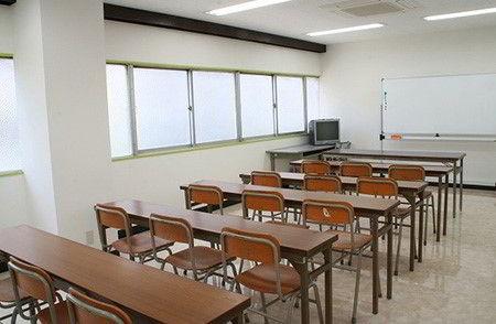 Hình ảnh một lớp học của Học viện Quốc tế Fuji