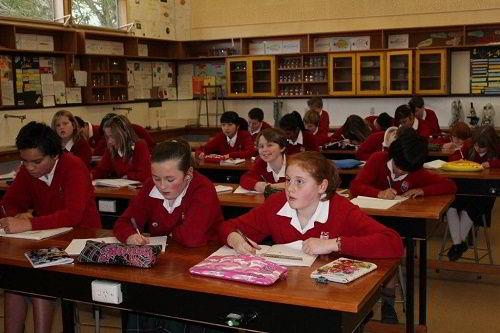 Hình ảnh một lớp học tại trường Kaikorai Valley