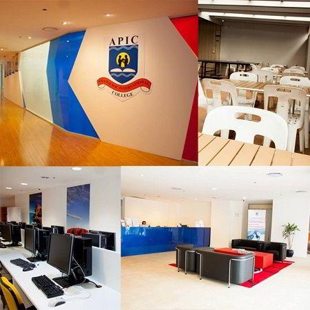 Một số hình ảnh về các phòng và cơ sở vật chất của trường APIC - Úc
