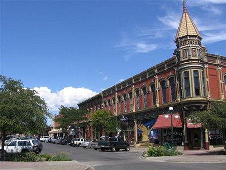 Một góc thành phố Ellensburg