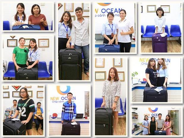 Chương trình tặng vali dành cho du học sinh tại New Ocean 2017