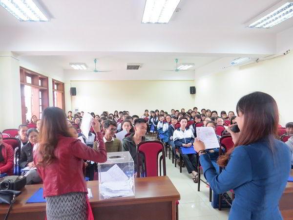 Hội thảo du học thu hút học sinh đến từ nhiều trường THPT trên địa bàn tỉnh Hải Dương