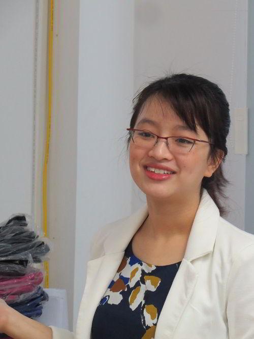 Ms. Bui Hanh – Đại diện tuyển sinh tại Việt Nam của trường Blue Mountains