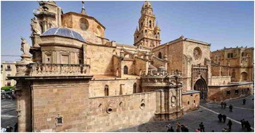 Pháo đài cổ Murcia.