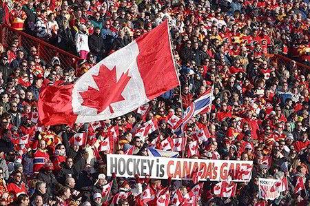 Hockey môn thể thao được yêu thích tại Canada