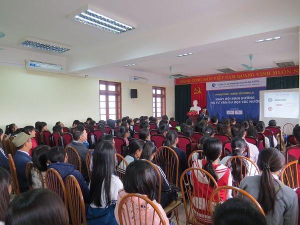 Ngày hội Định hướng và Tư vấn du học các nước của New Ocean tại thành phố Hải Dương.