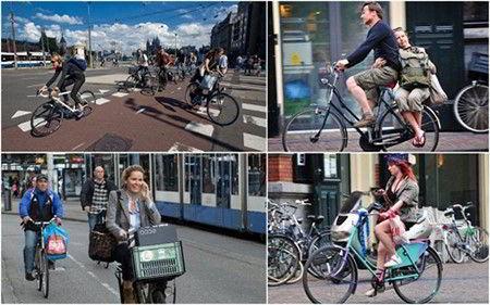 Xe đạp – phương tiện phổ biến và được yêu thích tại Hà Lan