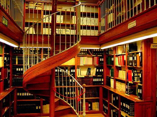 Thư viện đại học Granada đầy mê hoặc