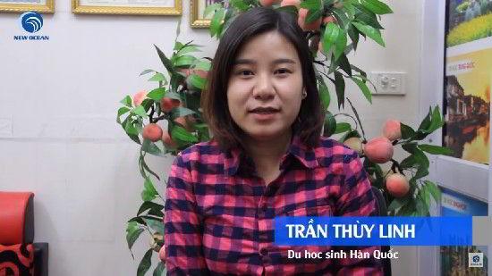Trần Thùy Linh chia sẻ cảm xúc khi nhận visa du học Hàn Quốc