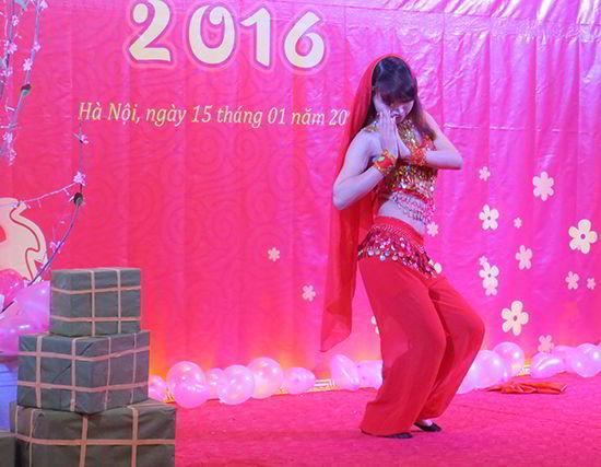 Đặc sắc vũ điệu múa bụng trong Gala tổng kết - Mai Thu Hường