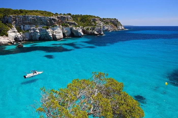 Hình ảnh của hòn đảo đẹp nhất Địa Trung Hải – đảo Mernoca, Tây Ban Nha.