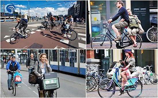 """Hà Lan - """"quốc gia xe đạp"""""""