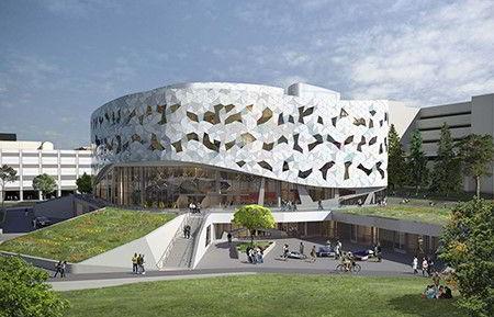 Hình ảnh khu học xá khối ngành Kĩ thuật của Đại học York