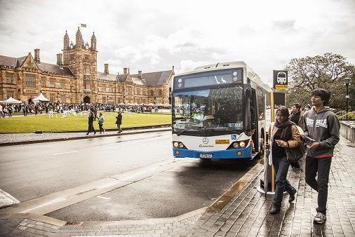 Phương tiện di chuyển cho sinh viên tại Úc