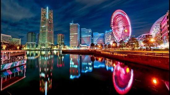 Thành phố Yokohama Nhật Bản.