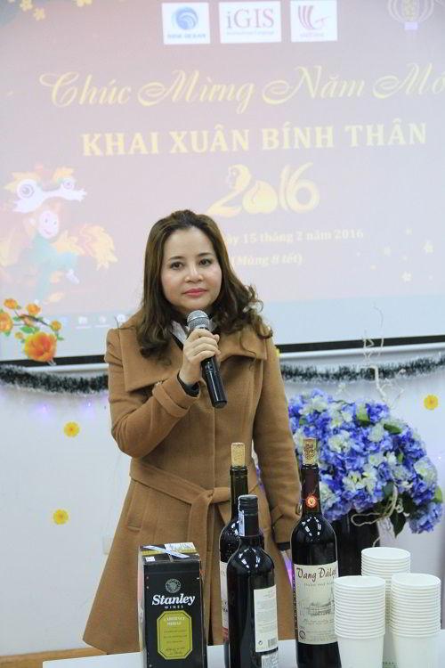 Chủ tịch Phạm Thị Dương gửi thông điệp chúc tết đến CBNV.