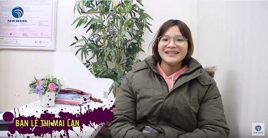 Lê Thị Mai Lan nhận visa du học Hàn Quốc