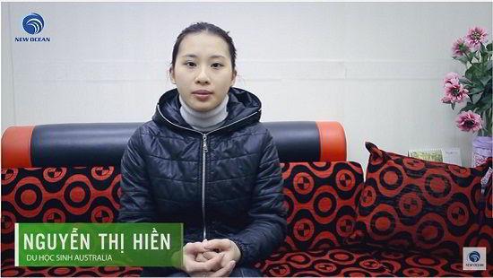 Nguyễn Thị Hiền nhận Visa du học Úc
