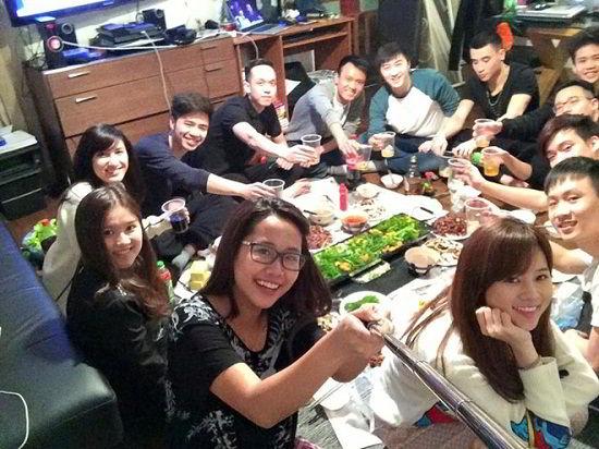 Sinh viên du học đón Tết