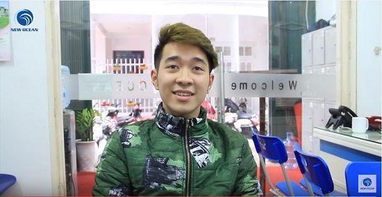 Đỗ Văn Duy nhận visa du học Hàn Quốc tháng 3/2016