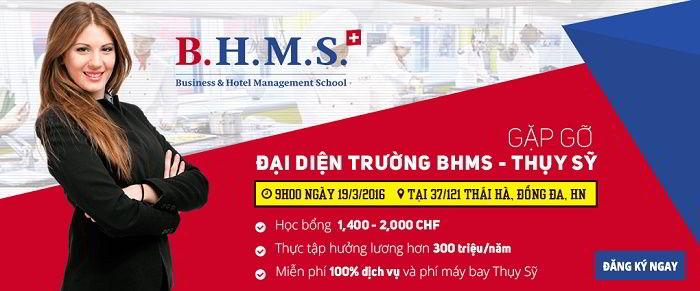 Cuộc gặp gỡ thú vị với đại diện trường BHMS, Thụy Sĩ