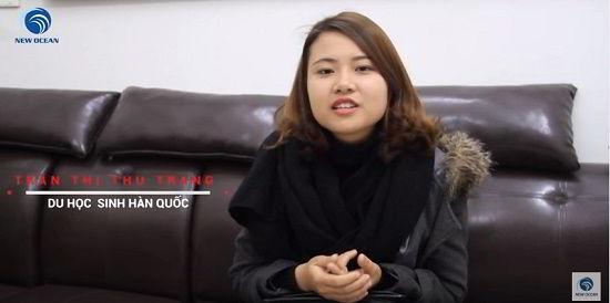Visa du học Hàn Quốc của Trần Thị Thu Trang