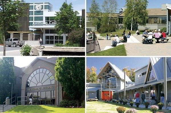 Cao đẳng Fleming College Canada.