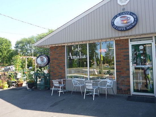 Quán cafe tại Welland Canada