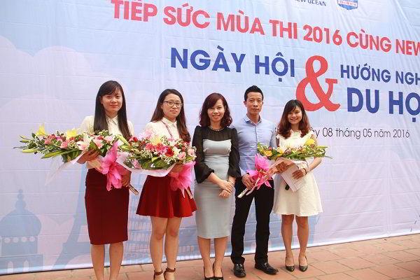 Các diễn giả tham gia chương trình tiếp sức mùa thi 2016.