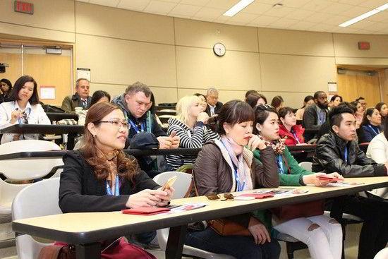 Đại diện New Ocean tham gia một buổi học tại giảng đường Niagara College