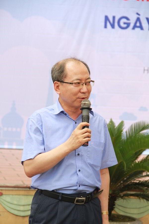 Ông Dong-Seong Kong, đại diện trường Đại học ChongSin, Hàn Quốc.
