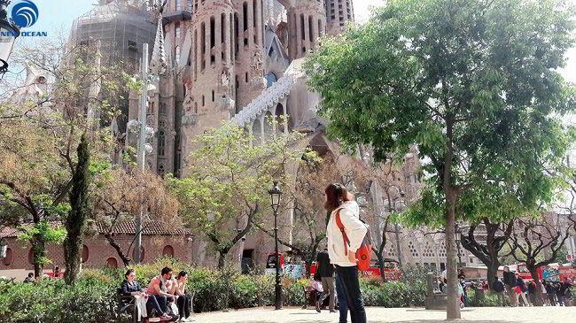 Phạm Thị Thảo tại Trường quốc tế HTL Tây Ban Nha.