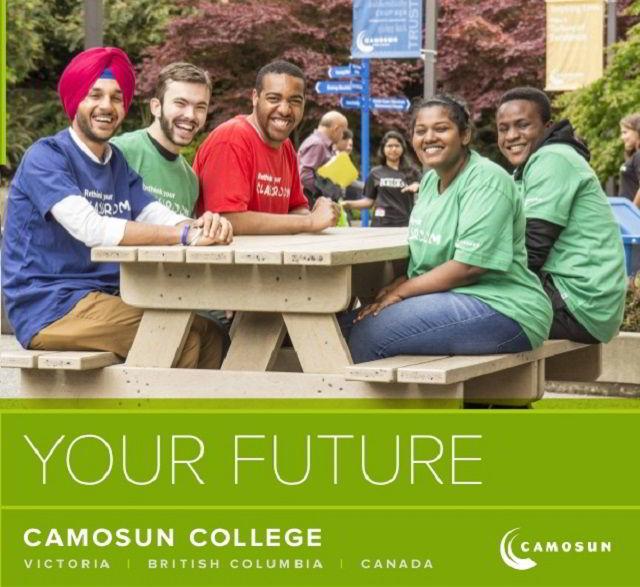Học bổng du học Canada từ trường Cao đẳng Camosun
