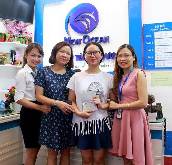 Nguyễn Thị Vân Anh nhận visa du học Canada