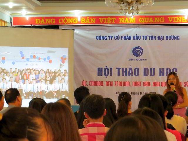Hội thảo du học quốc tế tại Hải Phòng