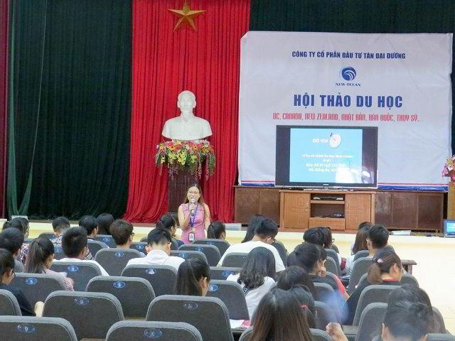 Hội thảo du học quốc tế tại thành phố Hải Dương