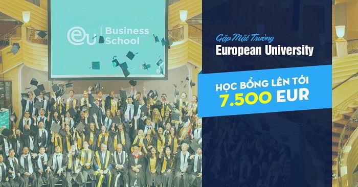 Hội thảo du học: Khám phá châu Âu cùng trường European University